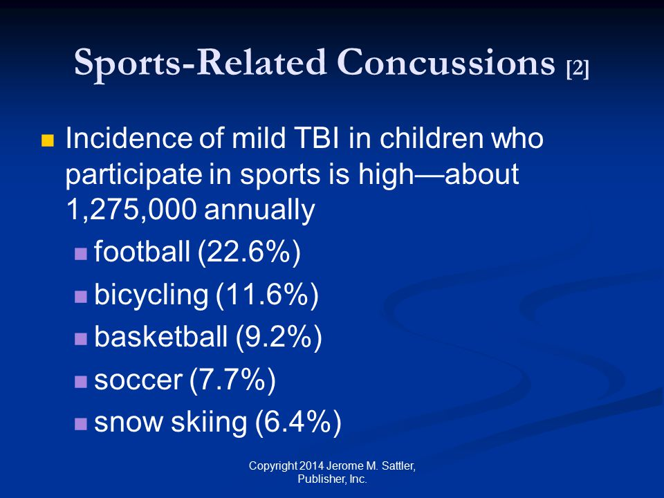 Sports-Related Concussions [2]